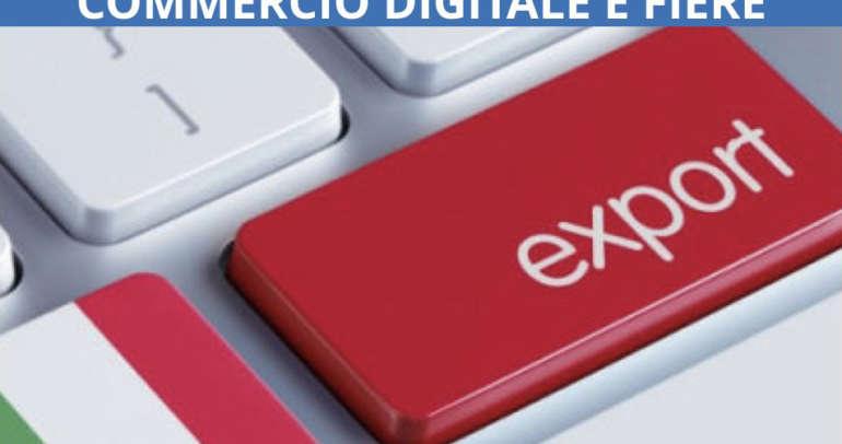 Bando Export 4.0 Commercio Digitale e Fiere
